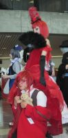 Madam Red and Grell by TheSapphireDragon1