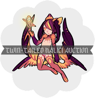 Twin-tailed Halici AUCTION [CLOSED] by Dlssectr