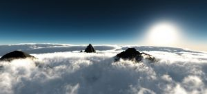 above the clouds by aeich4
