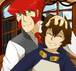 Klaus And Leo by lobaluna02