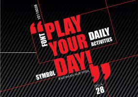 """Play Your Day"" Book Cover by RamonXick"