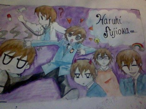 Haruhi by Yagami-Lawliet