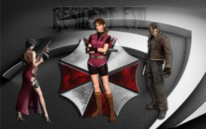 Resident Evil  Ada  Claire and Leon by MJCSD