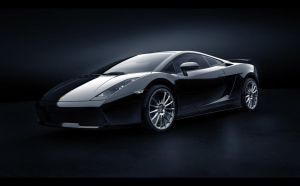 Lamborghini Black by MUCK-ONE