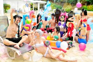 LOL Pool Party by Spinelo