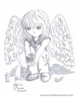 Little Abandoned Angel - Mello by AuchanVriconella