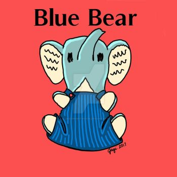 Blue Bear logo by jaqi0nightshade