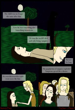 Heavy Prey: Preface-Page 5 by Angelwolfsfire