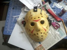 Finished a better mask by BuckarooProps