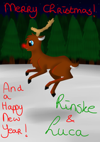 Christmas card~! :D by MysticalFiregirl