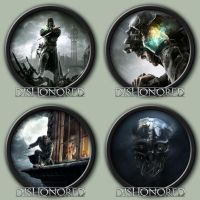 Dishonored Icons by kodiak-caine