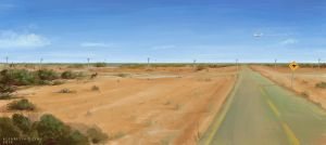 Expanses of Australia by AlsaresLynx