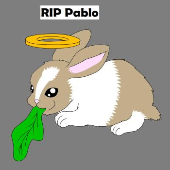 RIP Pablo  by treetops3636