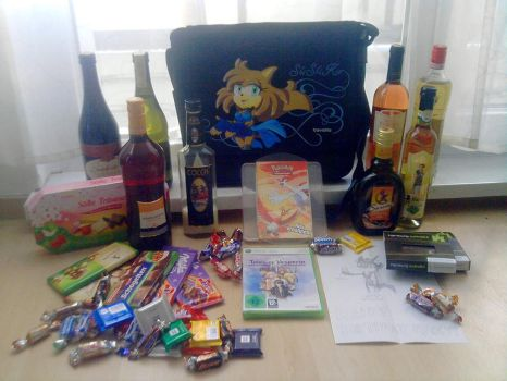 My B-day gifts 2010 by Pichu-Chan