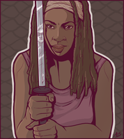 Michonne by aliceazzo