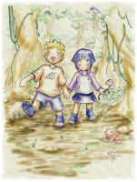 Naruto Hinata Childhood Friend by sykoeent