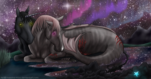 A Dream Of Hers. by Meesha-Moo