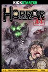 The Horror A4: Issue 1 Cover by Gazbot