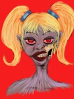 Zombie Girl by saleemnoorali