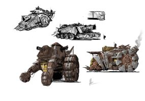 ancient war machines by TheBeke
