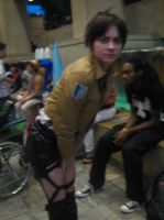 Otakon 2013 - Eren cosplay by AdversusZero
