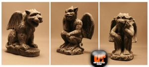 Unrestricted Gargoyle Stock by Unrestricted-Stock