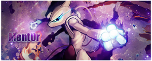 Mewtwo Sign' by Strawtwitch