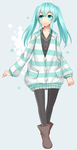 Original: Cute sweater by Kamaniki