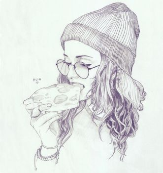 Pizza by prinsepolo