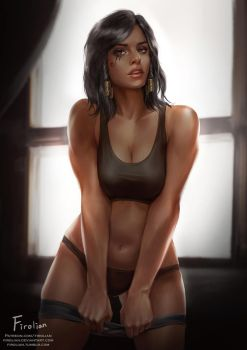 Pharah by Firolian
