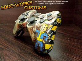 Fallout PS3 Controller by Edge-Works
