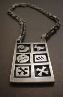 grunt necklace by Atgill
