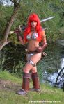 Red Sonja Cosplay by Artyfakes
