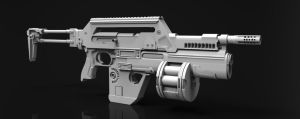 Lisette M41A Pulse Rifle by Chofni1996