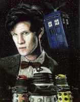 The Eleventh Doctor by solman1