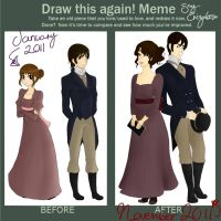 Before and After -Pride and Prejudice by Say-Erizabesu