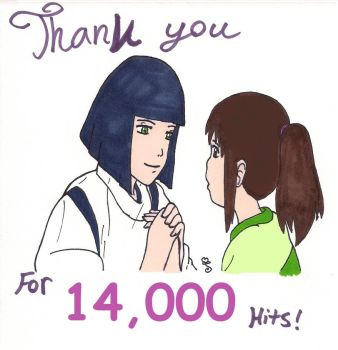 Thank You for 14,000 Hits by swirlheart