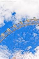 London Eye HDR by amrodel