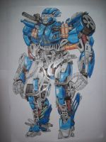 Transformers Evac From The Ride by isterini
