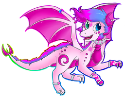 .:new desing:. by IzumiTheDragoness