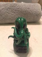 The Call of Claythulu - idol figurine by Quiscula