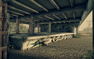 Crysis- Old Factory Site 4 by RKGrafixx