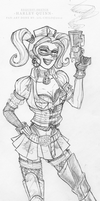 Request - Harley Quinn by Lil-Chilo