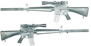 sniper rifle Colt 656 by MADMAX6391