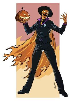 Commish: Mister Halloween by BragaDoom