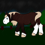 Commission: Stormy weather by Experimentor-Iblis