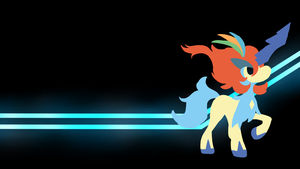 . Pokemon Backgrounds . Keldeo R . by Flows-Backgrounds