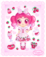 Milky Berry Lolita by Princess-Peachie