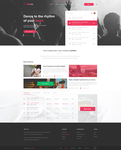 Musica Music Webdesign by Rarousek