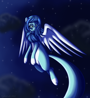 Alexis' Night Flight by DaikaLuff